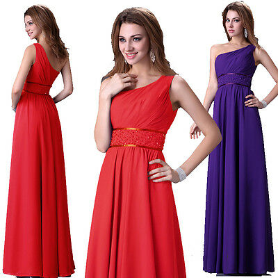 LAST Promo~RED Long Wedding Bridal Evening Party Homecoming Prom Dress PLUS SIZE