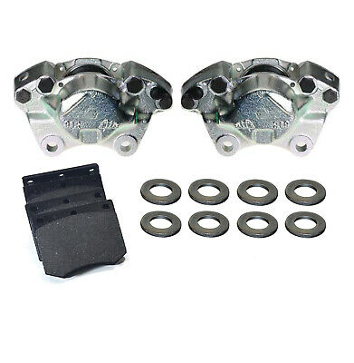 Ford Capri 2.8 Injection Front Brake Calipers, Pads & Pins (Vented) Bbk0042E
