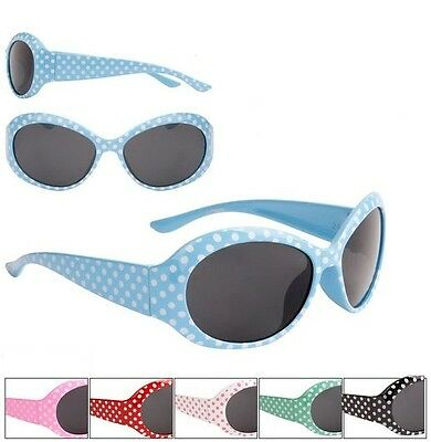 Dotty On Trend Sunglasses Kids Childrens Toddlers 100% UV400 Protection 61