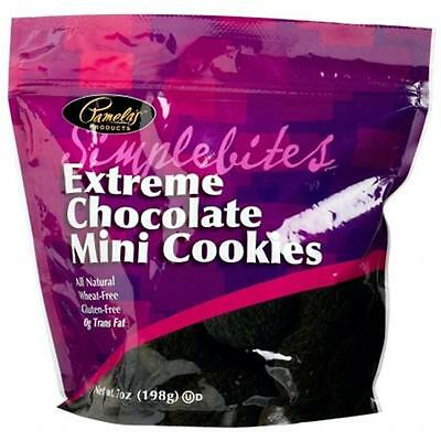 Pamelas Products 39439 Extreme Chocolate Simple Bites Gluten Free