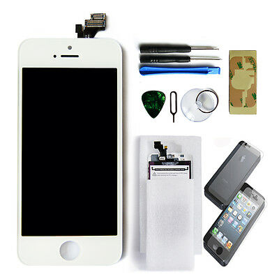 Replacement LCD Screen Touch Digitizer Display Glass Assembly for iPhone 5 White