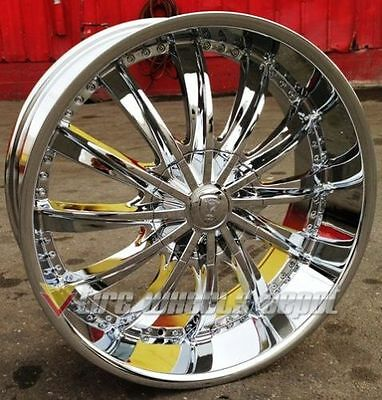 26 Inch B19 Rims And Tires Charger Magnum Chrysler 300 Challenger Impala Caprice