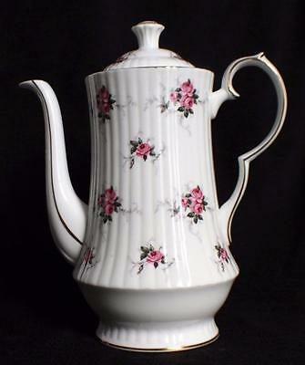 Vintage HAMMERSLEY SPODE Bone China PRINCESS HOUSE Pattern 9h Coffee Pot