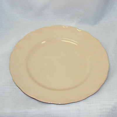 """VINTAGE GRINDLEY PEACH PETAL LUNCHEON DINNER PLATE 9"""" ENGLAND REPLACEMENT CHIN"""