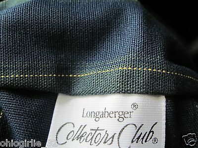 Longaberger~ 2002 Collector's Club Renewel Membership Stripe Liner NIB