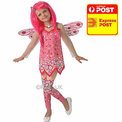 Deluxe Mia and Me Child Costume Gils Pink Princess Birthday Dress LICENSED