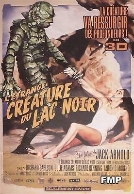 Creature From The Black Lagoon - Reissue Small French Movie Poster