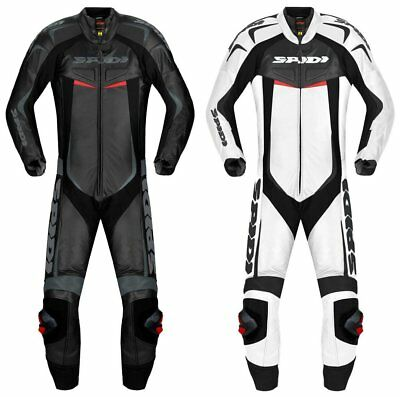 Spidi Sport Mens Reset Wind Pro 1 Piece Vented Leather Suit