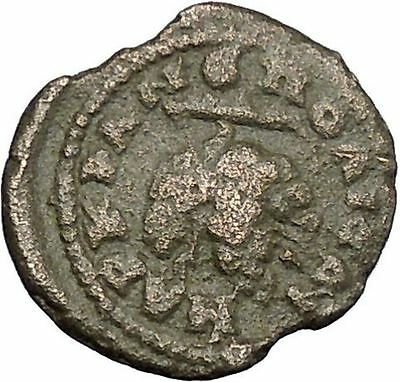 ELAGABALUS Bunch of Grapes  Bacchus MARCIANOPOLIS Rare Ancient Roman Coin i49372