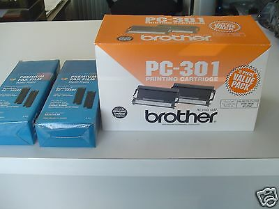 Brother PC-301 Print Cartridge - Fax-750/770, 870MC, MFC-970MC