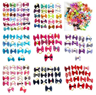 1000pcs Wholesale New Assorted Pet Dog Hair Bows Cat Puppy Grooming Accessories