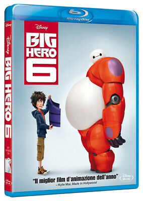 Big Hero 6 (Blu-Ray) WALT DISNEY