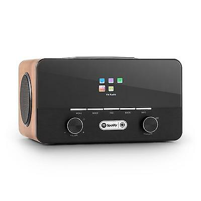 Internet Radio Digitale Usb Wifi Streaming Dab+ Fm Stazioni Moderna Legno