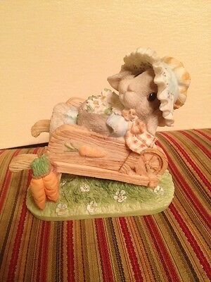 """My Blushing Bunnies """"Springtime Blessings"""" 156965 Collectible 1995"""