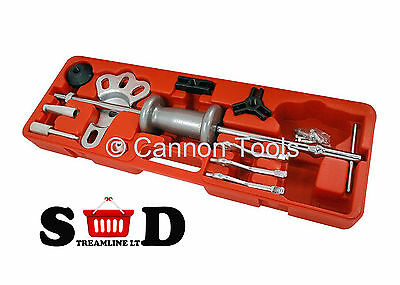 16 Pc Car Body Accident Repair Sliding Slide Hammer & Dent Puller Set Kit Ct1054