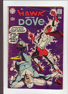 Hawk and the Dove #6 G 1969 DC Comic