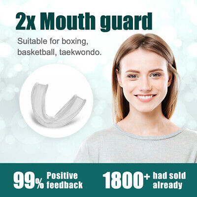 Mouth Guard Teeth Grinding Mouthguard Night Bruxism Clenching Sleeping Dental AU