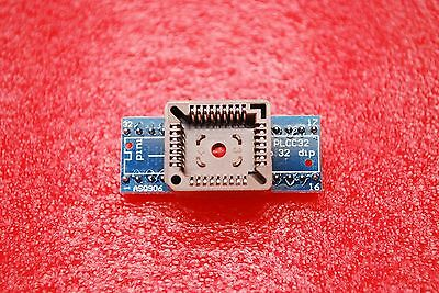 PLCC32 to DIP 32 Program IC Socket Converte   US SELL 1-3 DAYS A302