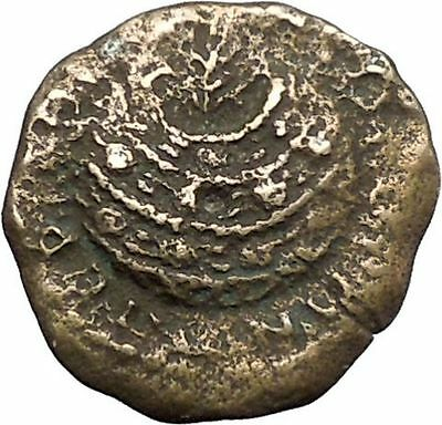 SEPTIMIUS SEVERUS Rare Ancient Roman Coin Olympic-style games prize urn i49436