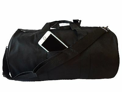 "Polyester ROLL Duffle Duffel Bag Travel/Gym/Carry-On Sport Gym Bag 18"" ALL COLOR"