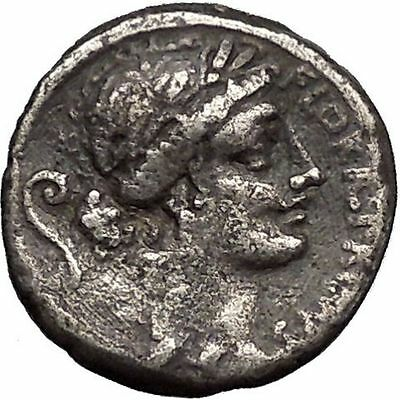 Roman Republic Goddess of Fertility FESTIVAL Ancient Silver Coin Warriors i49086