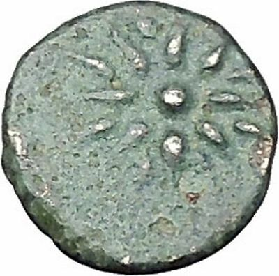 GAMBRION in MYSIA 4th-3rdCenBC Apollo Star Authentic Ancient Greek Coin i49185