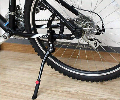Bicycle Cycling Bike MTB Adjustable Aluminum Alloy Stand Side Kickstand For 29""