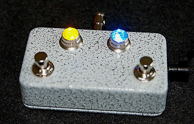 Invisible Sound guitar A/B/Y switch box with JEWEL Lights! A B Y Pedal