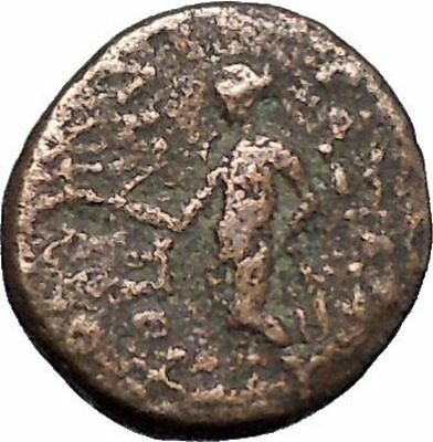 Antiochos III, Megas Authentic Rare Ancient Greek Coin APOLLO  i49453