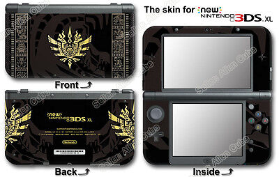 Monster Hunter 4 Ultimate Limited Edition Skin Sticker Decal #2#0 For NEW 3DS XL
