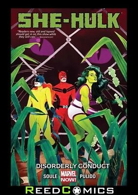 SHE HULK VOLUME 2 DISORDERLY CONDUCT GRAPHIC NOVEL Paperback Collect Vol 3 #7-12