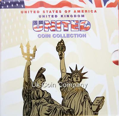 United States And United Kingdom Brilliant Uncirculated Coin Collection Set