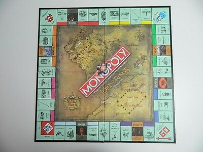 U-PICK 2003 MONOPOLY Lord of the Rings Trilogy Edition replacement Parts Pieces
