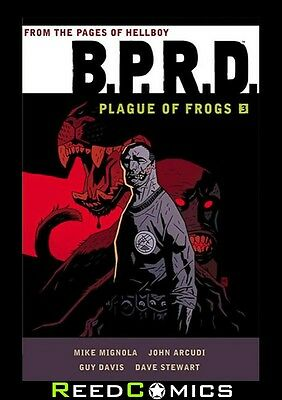 BPRD PLAGUE OF FROGS VOLUME 3 GRAPHIC NOVEL Paperback *448 Pages* Collected Ed.
