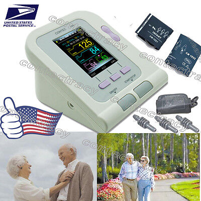 Digital Blood Pressure Monitor,NIBP,Adult+Child+Pediatric+SW,Sphygmomanometer,US