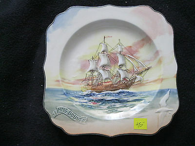 "Royal Doulton Famous Ships Series ""H.M.S. Bounty"" A  Serving Dish 1938-1958"