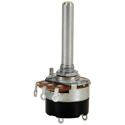 """1M Audio Taper Potentiometer with Switch 1/4"""" Shaft"""