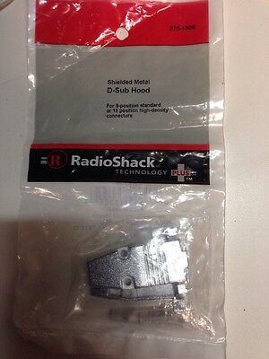 Shielded • Metal D-Sub Hood #276-1508 By RadioShack