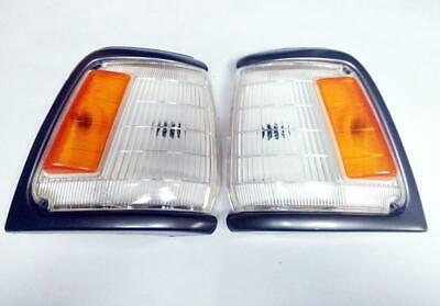 FIT 89- 93 Toyota Hilux Pickup Mk3 2,4Wd Corner Light Lamp Gray Left Right