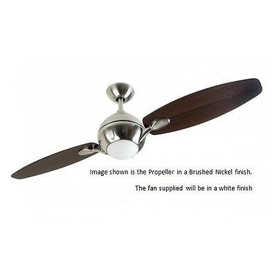 Fantasia Propeller Ceiling Fan 44 Inch White With Remote
