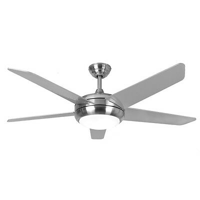 Fantasia Neptune 52in Stainless Ceiling Fan Light Remote