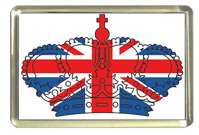 Union Jack Crown Fridge Magnet - Best of British