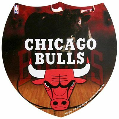 Chicago Bulls 8'' x 8'' Interstate Sign