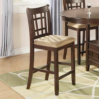 Stupendous Brown Cherry Backless Counter Height Stools By Coaster Unemploymentrelief Wooden Chair Designs For Living Room Unemploymentrelieforg