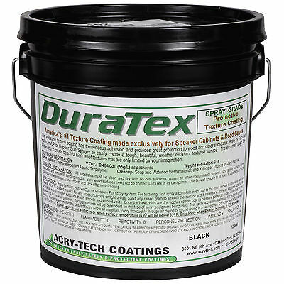 Acry-Tech DuraTex Black 1 Gal Spray Grade Cabinet Coating