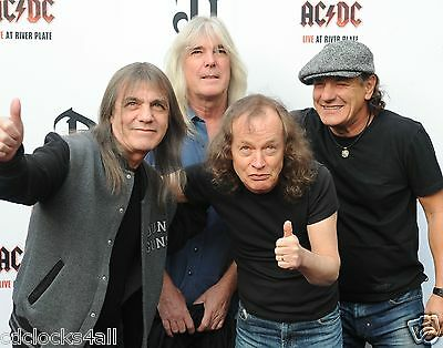 AC/DC 8 x 10 / 8x10 GLOSSY Photo Picture