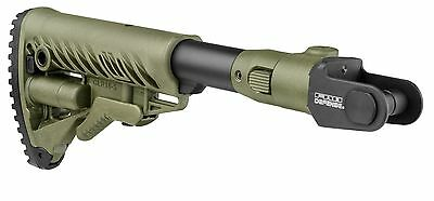 COL - AKMS P OD Green Aluminium Folding Collapsible Buttstock For AKMS