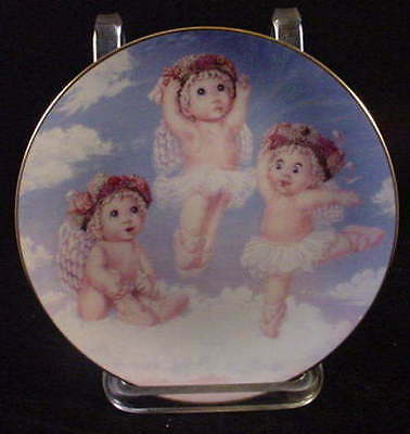 Dreamsicles Collector Plate Heavenly Pirouettes Ballerinas  1995 #2500B