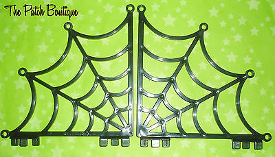 Monster High School Playset Replacement Parts Spider Web Braces Walls Borders