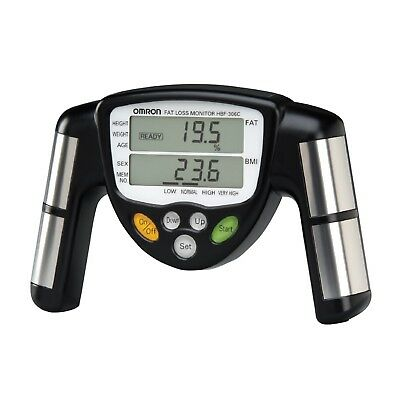 Omron HBF-306C Body Fat Loss Monitor Weight Management Device Aid New